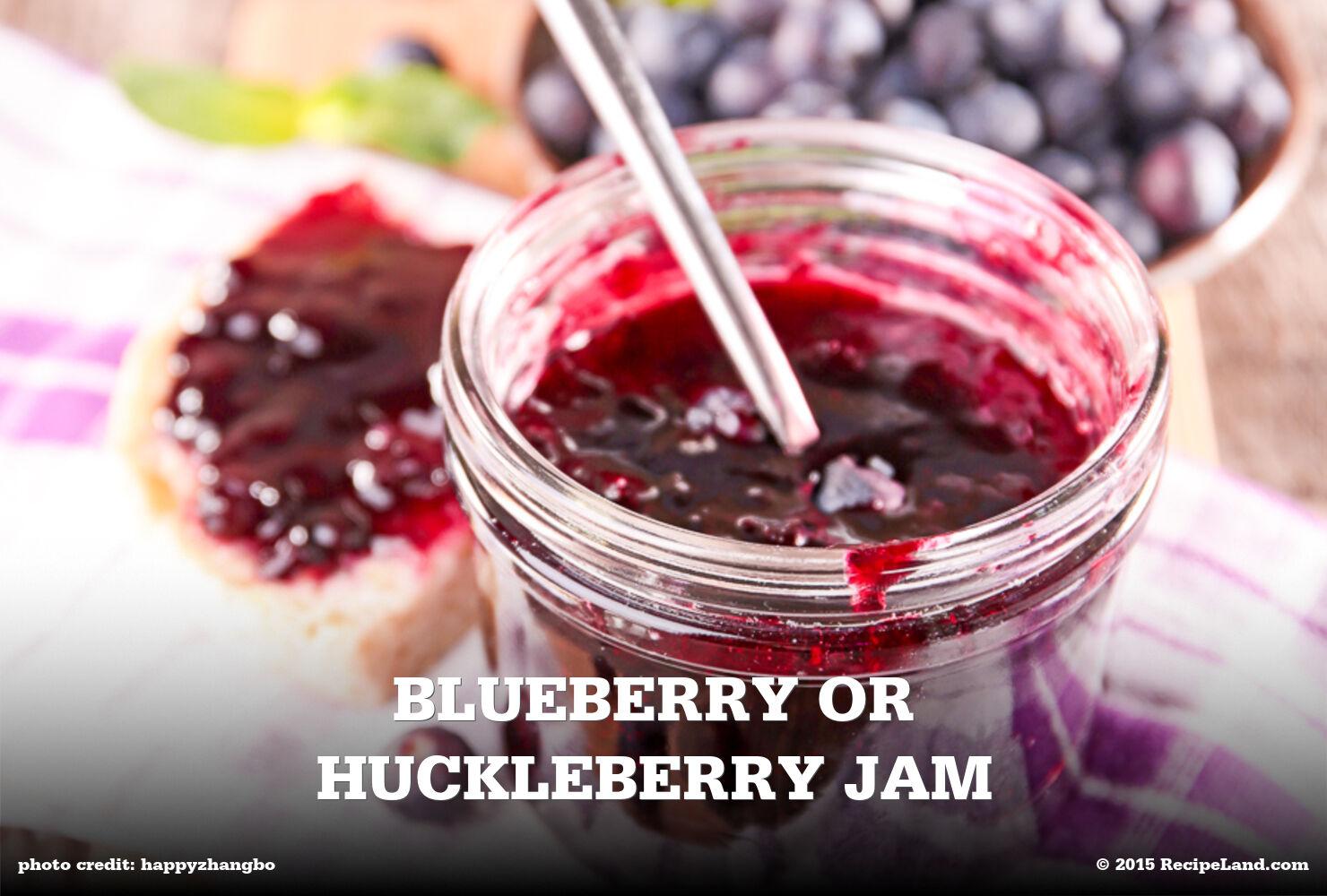 Blueberry or Huckleberry Jam