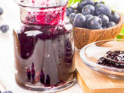 Spiced Blueberry Jam