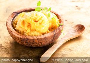 Mango Cream Ice Cream