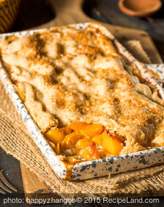 Nick's Peach Cobbler
