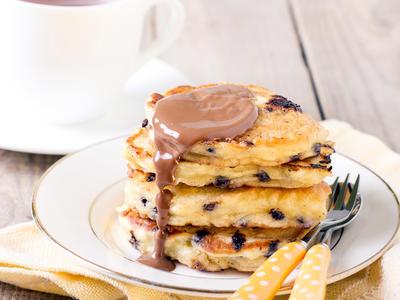 Tom's Favourite Chocolate Chip Pancakes