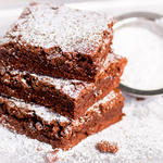 50% Reduced Fat Chocolate Brownies
