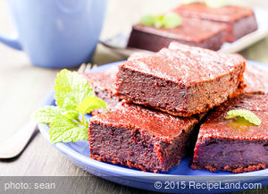 Barbara's Brownies From Elegant But Easy Cook