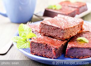 Barbara's Brownies From Elegant But Easy Cook