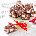 Classic Rocky Road Brownies