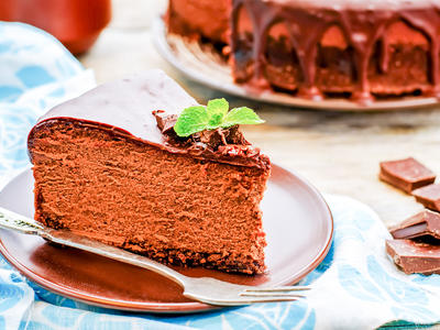 Chocolate Cheesecake - Country Living Holidays