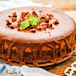 Cappuccino Chocolate Cheesecake
