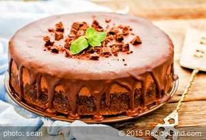 Cappuccino Chocolate Cheesecake