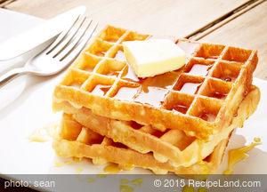 Barley-Amaranth Waffles