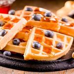 Super Easy Belgian Waffles
