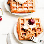 Berrie Good Waffles (Whole Wheat Waffles)