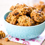 Cinnamon Applesauce Oatmeal Fat-free Cookies