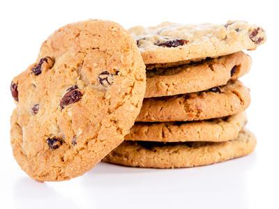Oatmeal Chocolate Chip Raisin Cookies