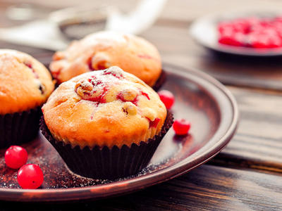 Easy Yummy Cranberry Muffins