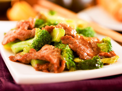 Beef With Broccoli Stir Fry (New Year)