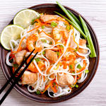 Pad Thai Stir-Fried Rice Ribbon Noodles