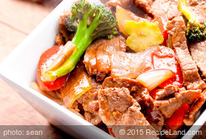 Beef and Broccoli Tips