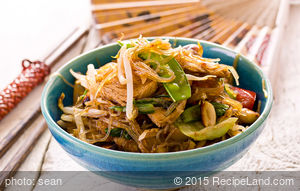 Beef Chow Fun with Black Bean Sauce