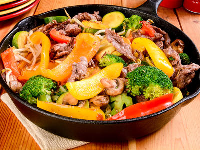 Spicy Sesame Beef Stir-Fry
