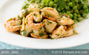 Shrimp and Scallops, Garlic