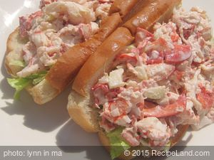 Sosa's Lobster or Lobsta Roll