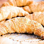 Simit  (Turkish Croissant with Sesame Seeds)