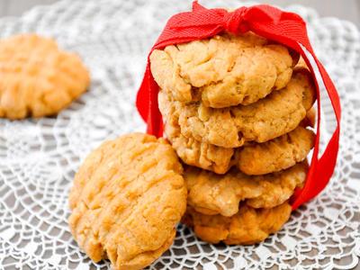 4 Ingredient PB Cookies