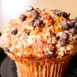 Super Moist Chocolate Chip Banana Muffins