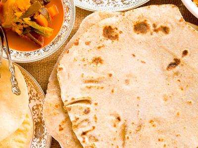 Whole Wheat Flatbread (Chapati)