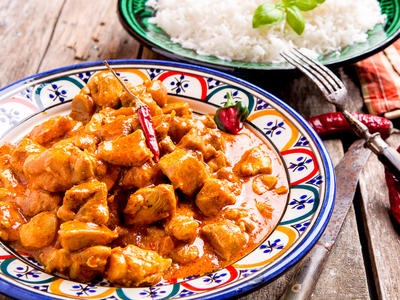 Breezy Point Chicken Curry