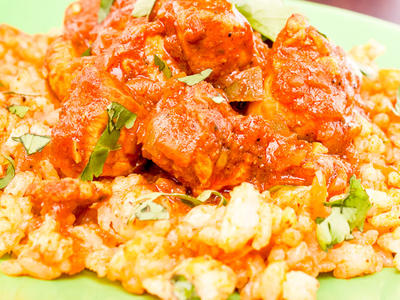 Andy's Murgh Kurma (Chicken Curry)