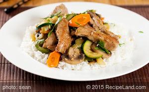 Vegetable Pork Stir-Fry
