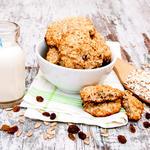 Cardamom Oatmeal Raisin Cookies