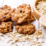 Banana Raisin-Chocolate Chip Oatmeal Cookies