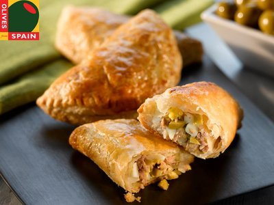 Tuna and Green Olive Pastries