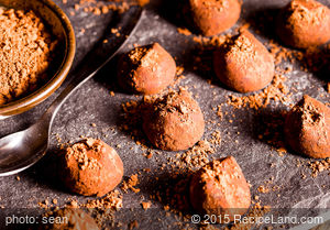 Milk Chocolate and Orange Truffles