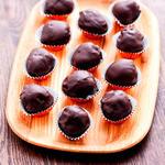 Bittersweet Chocolate Coated Truffles