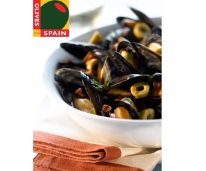 Mussels with Spanish Green Olives