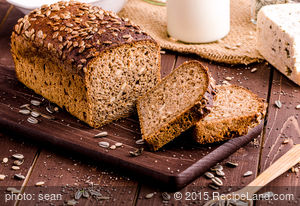Sourdough Honey Whole Wheat Bread