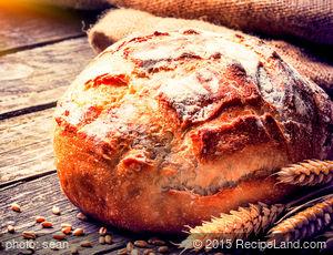 Homemade Whole Wheat Sourdough Bread