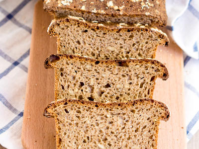 Healthy Whole Wheat Bread (Bread Machine)