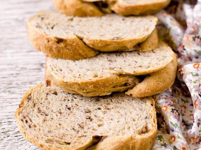 Pecan Whole Wheat Rye Bread