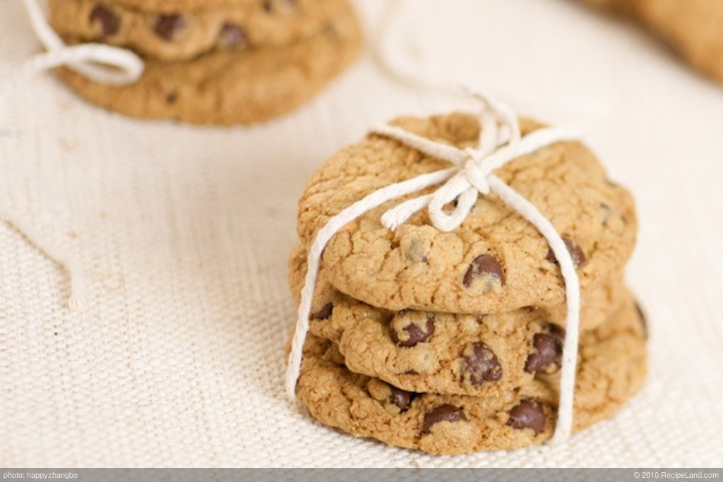 Chocolate Chip Cookies-Low-fat, Low Calorie