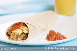 Breakfast Burritos Anytime