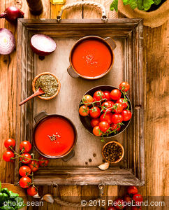 Chilled Tomato-Yogurt Soup