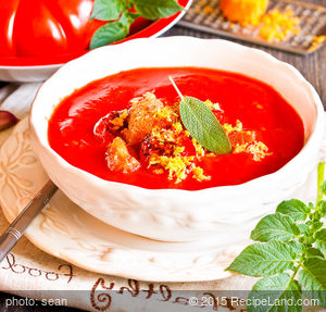 Chilly Tomato Bisque Soup