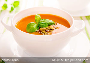 Delicious Cream of Pumpkin Soup