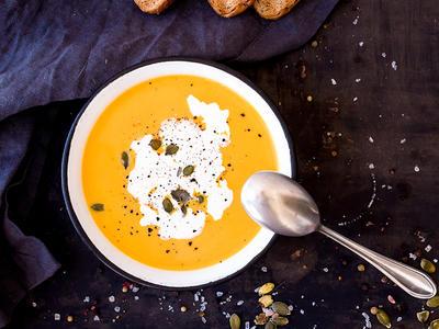 Conner Prairie Pumpkin Soup
