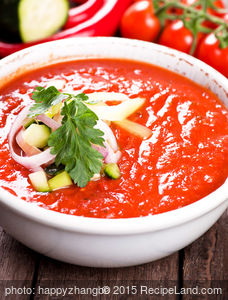 Basic Red Gazpacho
