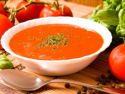Creamy Tomato Onion Soup